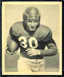 Joe Scott 1948 Bowman football card