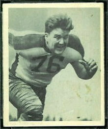 Bucko Kilroy 1948 Bowman football card
