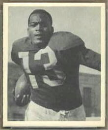 Kenny Washington 1948 Bowman football card