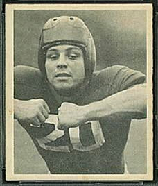 John Cannady 1948 Bowman football card