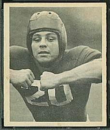 John Cannady 1948 Bowman football card
