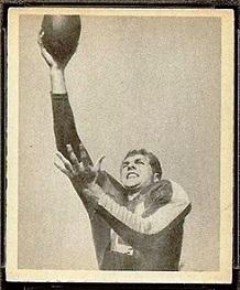 Harold Crisler 1948 Bowman football card