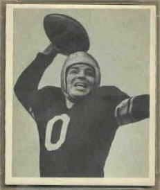 John Clement 1948 Bowman football card