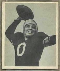 John Clement 1948 Bowman football card