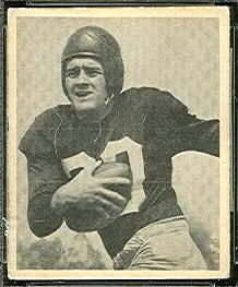 Dan Sandifer 1948 Bowman football card