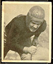 Bill Garnaas 1948 Bowman football card