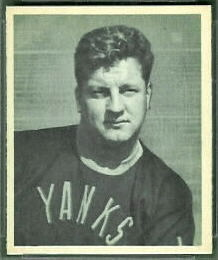 Frank Barzilauskas 1948 Bowman football card