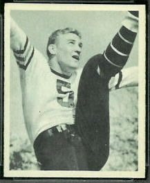 George McAfee 1948 Bowman football card