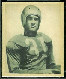 Ralph Heywood 1948 Bowman football card