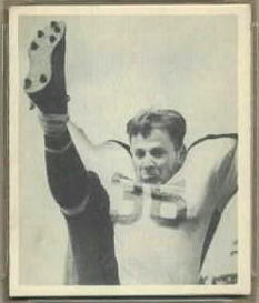 Joe Muha 1948 Bowman football card