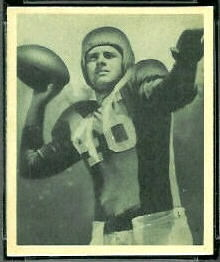 Fred Enke 1948 Bowman football card