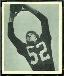 Harry Gilmer 1948 Bowman football card