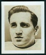 Lou Groza 1948 Kelloggs Pep football card