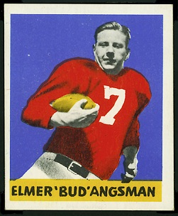 Elmer Angsman 1948 Leaf football card