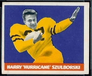 Harry Szulborski 1948 Leaf football card