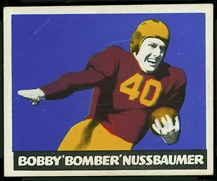 Robert Nussbaumer 1948 Leaf football card