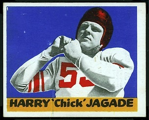 Harry Jagade 1948 Leaf football card