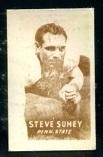 Steve Suhey 1948 Topps Magic Photos football card
