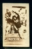 Columbia 23 Navy 14 1948 Topps Magic Photos football card