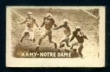 Army - Notre Dame 1948 Topps Magic Photos football card