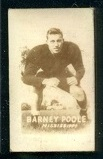 Barney Poole 1948 Topps Magic Photos football card