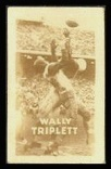 Wally Triplett 1948 Topps Magic Photos football card
