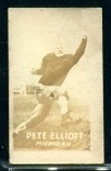 Pete Elliott 1948 Topps Magic Photos football card