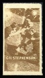 Gil Stephenson 1948 Topps Magic Photos football card