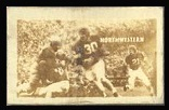 Northwestern 1948 Topps Magic Photos football card