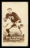 Bill Fischer 1948 Topps Magic Photos football card