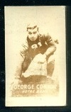 George Connor 1948 Topps Magic Photos football card