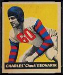 1949 Leaf Chuck Bednarik