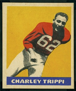 Charley Trippi 1949 Leaf football card