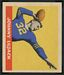 John Lujack - 1949 Leaf football card #56