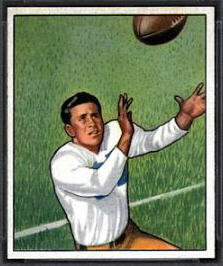 Doak Walker 1950 Bowman football card