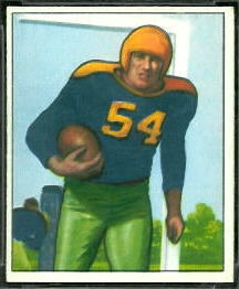 Larry Craig 1950 Bowman football card
