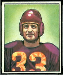 Sammy Baugh 1950 Bowman football card