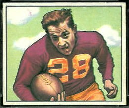 Frank Spaniel 1950 Bowman football card