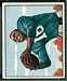 Wallace Triplett - 1950 Bowman football card #109