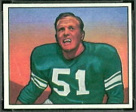 Joe Watson 1950 Bowman football card