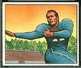 Cloyce Box 1950 Bowman football card