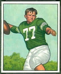 Chet Mutryn 1950 Bowman football card