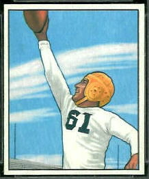 Elbert Nickel 1950 Bowman football card