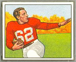 Charley Trippi 1950 Bowman football card