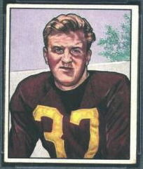 Joe Tereshinski 1950 Bowman football card