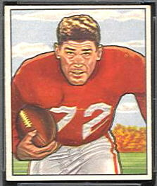 Norm Standlee 1950 Bowman football card