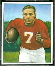 Elmer Angsman 1950 Bowman football card