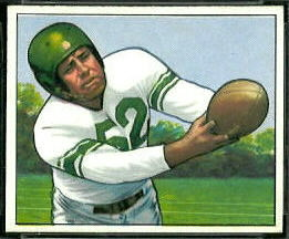 Bob Nowaskey 1950 Bowman football card