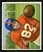 Ray Poole - 1950 Bowman football card #32