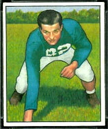 Leon Hart 1950 Bowman football card